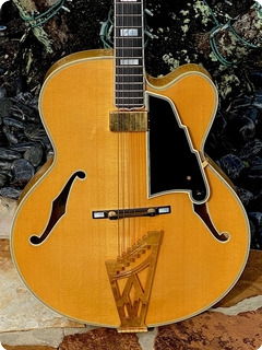 D'angelico Guitars New Yorker #10 Of 19 1993 Blonde Finish