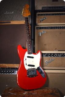 Fender Mustang 1965 Dakota Red