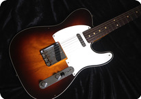 Fender Custom Shop-Telecaster Esquire-2021-Chocolate Sunburst