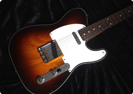 Fender Custom Shop Telecaster Esquire 2021 Chocolate Sunburst