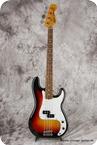 Fender Squier Precision Bass 1984 Sunburst