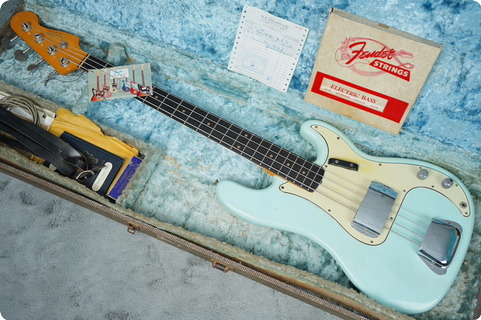 Fender Precision Bass 1963 Sonic Blue
