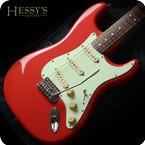 Fender Squier SOLD Simon Neil Biffy Clyro Signature Fiesta Red Classic Vibe Strat Gig Bag 2009 Fiesta Red