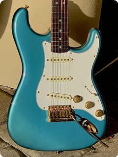 Fender The Strat  1980 Lake Placid Blue