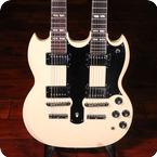 Gibson EDS 1275 1978 Polaris White