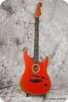 Fender Acoustasonic Stratocaster 2020 Dakota Red