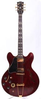 Gibson Es 345td Lefty 1978 Wine Red