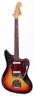 Fender Jaguar Dots & Binding  1966 Sunburst