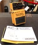 Boss 1974 AC 3 Acoustic Simulator 1974