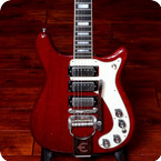Epiphone Crestwood Deluxe 1965 Cherry Red