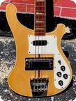 Rickenbacker-4001 Bass -1977-Mapleglo Finish