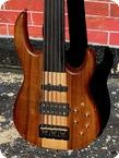 Carvin Guitars BB76P Fretless Bass 2000 Koa Finish