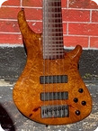 Roscoe Basses SKB Custom 6 string Bass 2012 Amber Maple Finish