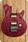 Ernie Ball Music Man Van Halen EVH Signature Purple Quilted