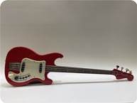 Hagstrom Bass Red