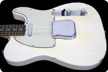 Fender Telecaster 1963 Olympic White Korina