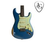 Fender Fender Stratocaster 1959 Heavy Relic Custom Shop By C.W. Fleming Lake Placid Blue