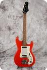 Hagstrom PB 24G 1963 Red Vinyl