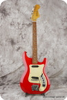Hagstrom Model II 1963 Red