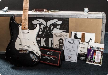 Fender Eric Clapton 'black' Tribute Stratocaster Black