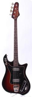 Hagstrom Coronado Iv Bass 1967 Sunburst