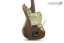 Fender-Custom Shop 62 Relic Jazzmaster-2020-Firemist Gold