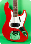 Fender Jazz Bass 1966 Dakota Red