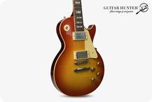 Gibson Custom Shop 1958 Les Paul Standard Reissue VOS 2021 Washed Cherry Sunburst