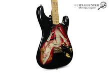 Fender Custom Shop Playboy 40th Anniversary Stratocaster 1994 Artwork By Pamelina H