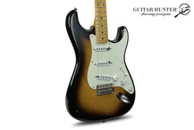 Fender Custom Shop Buddy Holly Tribute Stratocaster Masterbuilt By Dennis Galuszka 2010 Sunburst