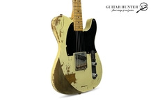 Fender-Custom Shop Jeff Beck Tribute Esquire Relic In Blond - Masterbuilt By Chris W. Fleming-2006-Blond