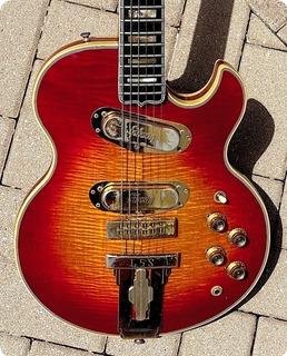 Gibson L 5s Solid Body 1973 Cherry Sunburst Finish