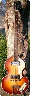 Hofner Violin Bass 500/1 1967 Sunburst