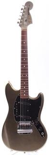 Fender Mustang '69 Reissue Matching Headstock 2000 All Aluminum Silver