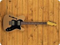 Nash Guitars 72 Thinline 2021 Les Paul Gold