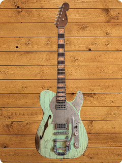 Paoletti Guitars Nancy Lounge 2021 Sage Green