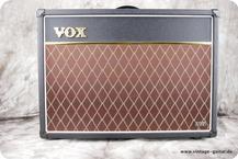 Vox AC 15VR 2012 Black