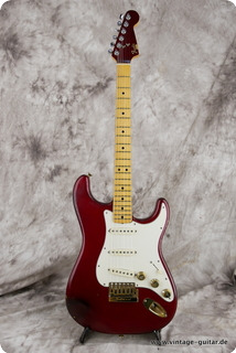 Fender The Strat Candy Apple Red