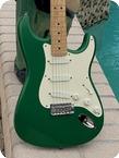 Fender-Stratocaster Eric Clapton Signature-1989-7 Up Green Finish