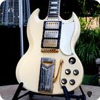 Gibson SG Les Paul Custom 1961 Polaris White