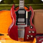 Gibson-SG Standard-1969-Cherry Red