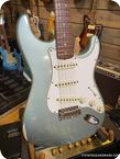 Fender Stratocaster 1966 Faded Ice Blue Metallic Refin