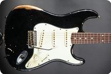 Fender John Cruz Masterbuilt 1960 2015 Black Relic Over Firemist Gold