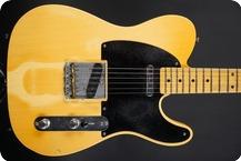 Fender 53 TelecasterPaul Waller Masterbuilt 2017 Tan Line Heavy Relic