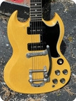 Gibson SGLes Paul TV Special 1961 TV Yellow Finish