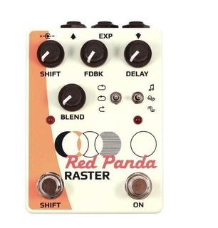 Red Panda Raster Version 1 White