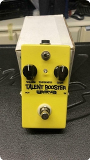 Wampler Talent Booster Yellow