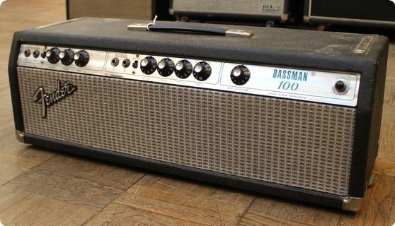 Fender 1975 Bassman 100 Silverface Head 1975