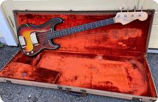 Fender Precision Bass 1963 Sunburst