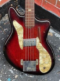 Ibanez Model 1950 Bass  1961 Red/brown'burst